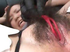 Japansk Bondage Sex Ekstrem BDSM Straff av Ayumi Pt. 12