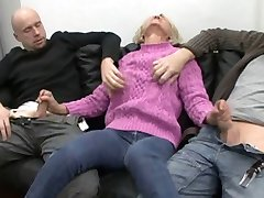 قدیمی, granny fucked by two guys
