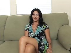Hete Brunette Cougar Zoey Holloway Pony Hard