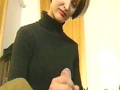 krievu meitene, ar karstā ķermeņa fucks