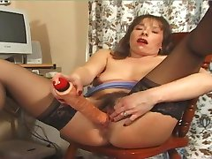 Mature Fingers and Toys