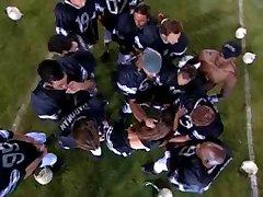 Football Team Gangbangs A Cheerleader