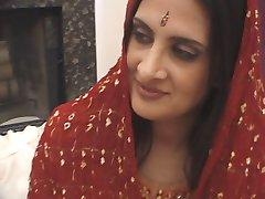 Sexy Anglo-Kashmiri Indiase Pornoster