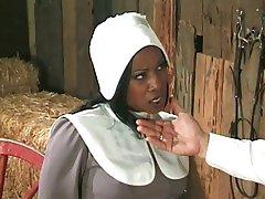 الاميش مزارع annalizes الأسود خادمة