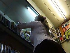 Busty Bookseller