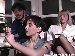 Włoskie matki otrzymują zanudzają lub ssać mocne członkowie
