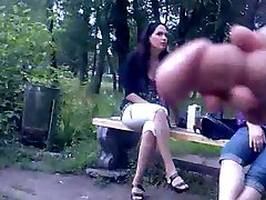 Rus Public FLASH Watching CUM GIRLS 78 - NV