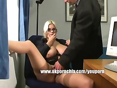 British secretary gets fucked