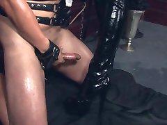 Naughty boy punished