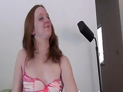 Ginger Teen First Time Video