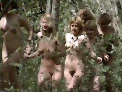 Nude run in the sun