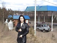 Rusya'da çıplak