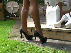 LGH - Tamia Outdoor Fucking Heels