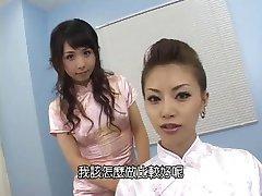 Erotic Japanese Girls Strap Guy