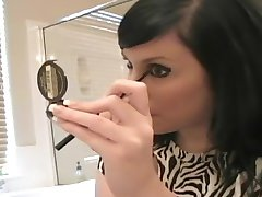 Andi dajanje na make-up - Sologirlcontent