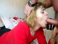 mom in facehole-fuck n cum drink action