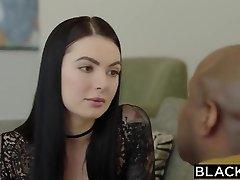 BLACKED Marley Brinx first-ever bbc in her bum