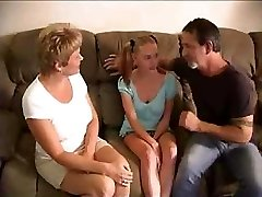 Hot Mature Swingers Penetrate Young Babysitter