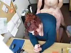 HOT FUCK #57 (Redhead Bbw Assistant in the Office)