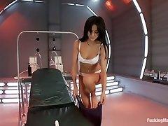 Alien Machines Take Breanne Benson To Orbit Orgasms