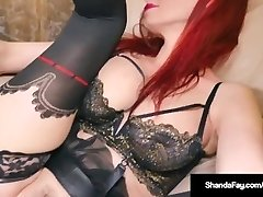 Geile Hausfrau Shanda Fay Bekommt Ihr Cum Gefüllt Pussy Leckte!