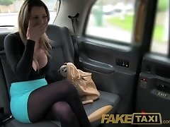 FakeTaxi Stunning blonde with gigantic tits