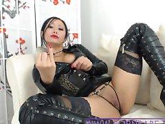 Asiatici Hot Mistress PornbabeTyra ti dà una brutta dominazione