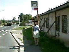 Neugierig Mollige / Dicke Bekommt Ihren Arsch Gefüllt