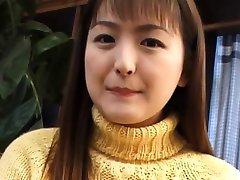 ungdoms Yuki Amagi plasy med henne ceamy twat