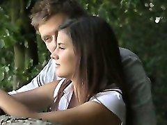 Erste Liebe zwischen fall in love Liebhaber