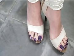 Deusa Grazi sexy toes