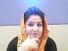 温泉パキスタンの女の子の話ムスリム-Paki性Hindustani