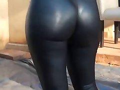 Hot ass und leggings
