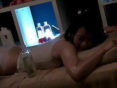 Lesbianas Aceite de Masaje de Lujo Casado 07a (censurado)
