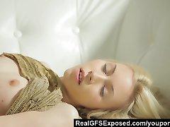 Perfect Skinny Teen Pleasing Herself