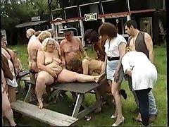 Oldies outdoor Orgie