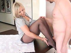 sexy qife ciorapi fetish picior 4