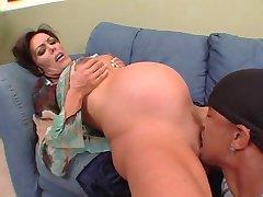 Nancy Vee - incinta interrazziale anale