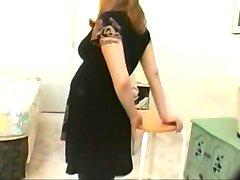 Vintage schwangeren Mädchen-porno