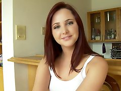 Cute & Lovely Redhead Teen Fuck