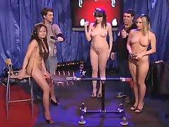 3 Menina Nua Na TV