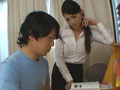 las estudiantes recibe más de ayuda para sus estudios de caliente maestro babe