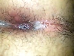 Amateur toilet sex with lots of cum