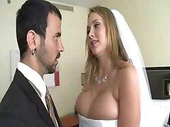homem transa noiva, enquanto os noivos não't acordado