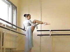 veldig søt russisk Gymnast