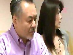 Voyeur Japāņu sieva apmainīt seksu ar citiem