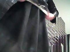 Skrita kamera v ženski wc v hotelu
