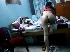 Indiano Hidden Cam Sesso Scandalo Scopata In