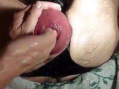 Fisting A Giant Eggplant