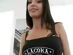 Ultra skinny-Russisch anal